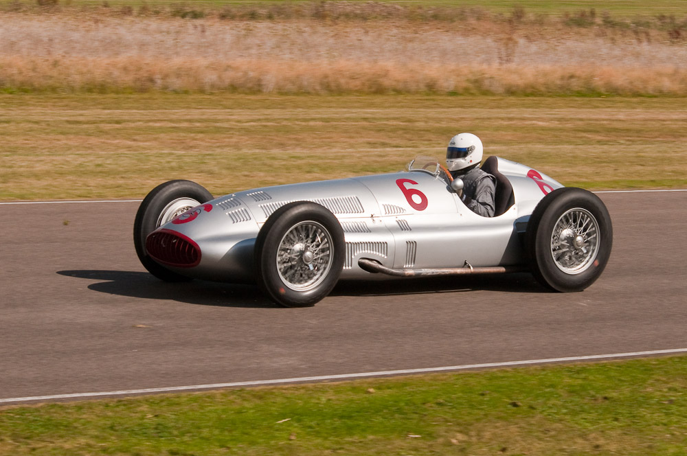 Mercedes Benz W154 Silver Arrow 1939 Formula One Car