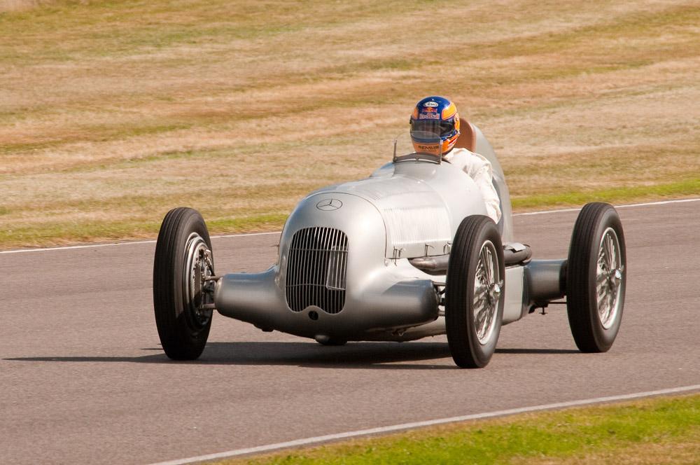 Mercedes Benz W25 Silver Arrow 1934 Formula One Car