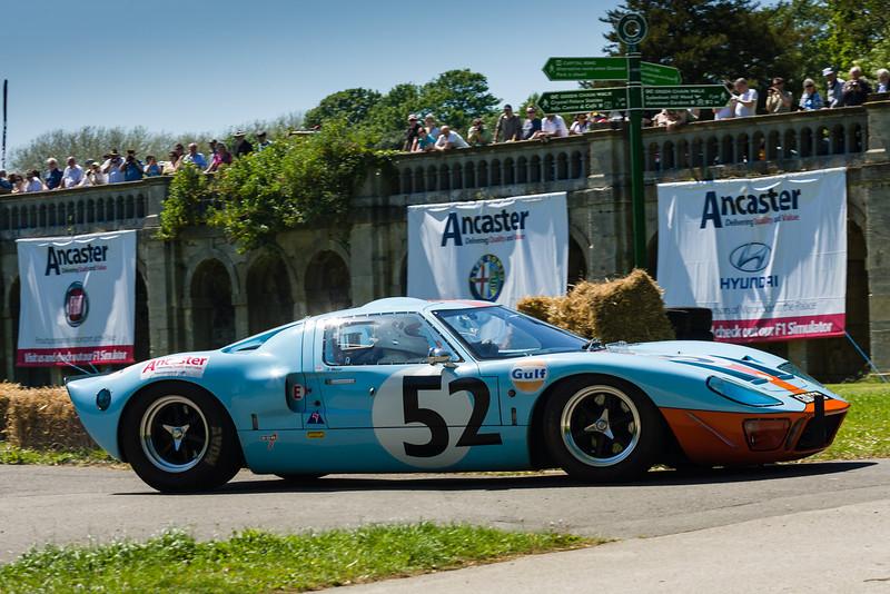 Glen Mason - 1965 Ford GT40 Recreation