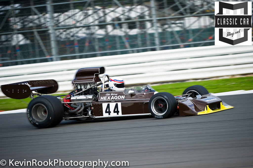 2012 Silverstone Classic, Peter Gethin Memorial Trophy, Simon HADFIELD, Trojan T101