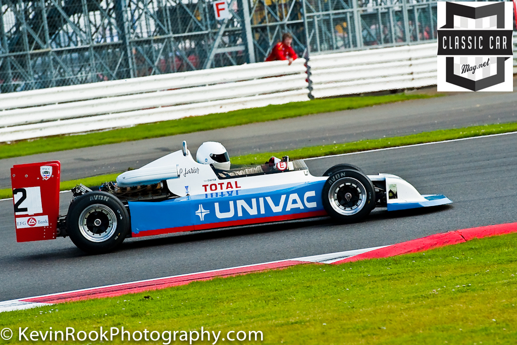 2012 Silverstone Classic, F2 & F5000, Lee DWYER, March 782, Peter Gethin Trophy
