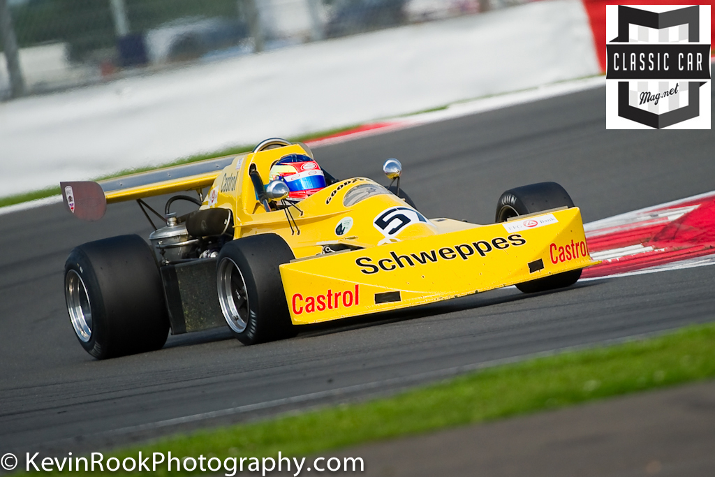 2012 Silverstone Classic, F2 & F5000, March 752, Neil FOWLER, Peter Gethin Trophy