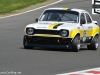 Brown's Escort Mk1 RS climbing paddock in the 70s celebration