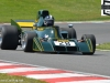 Sidney Hoole in a Ensign N173 coming out of Surtess in the F1 Masters