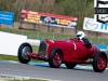The Alfa Romeo P3 Tipo B driven by Tony Smith - takes McLean's in qualifying