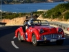 Hill climbing for Joe Gerada in his Triumph TR3