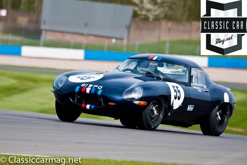 1961 Jaguar E-Type, Martin Melling, Graeme Dod - E-Type Challenge