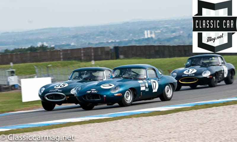 1965 Jaguar E-Type, Robert Gate - E-Type Challenge