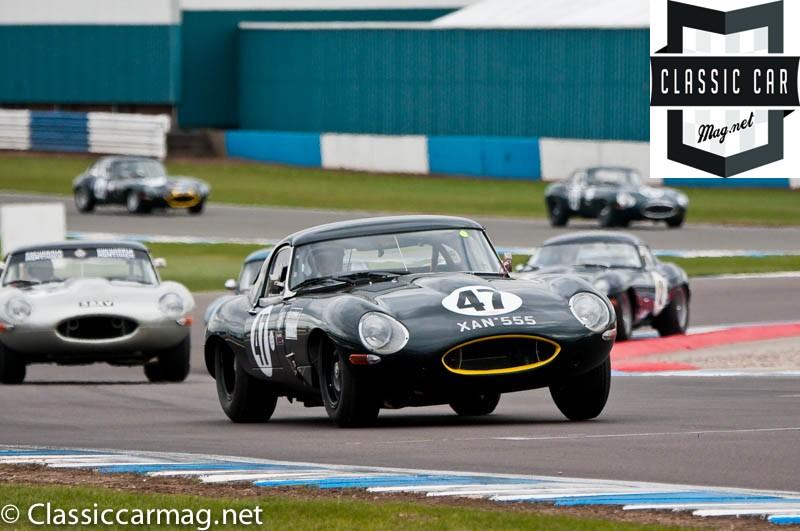 1962 Jaguar E-Type, Chris Scragg - E-Type Challenge