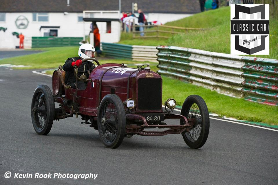 Clive Press in the 1913, 9934cc, Peugeot 148