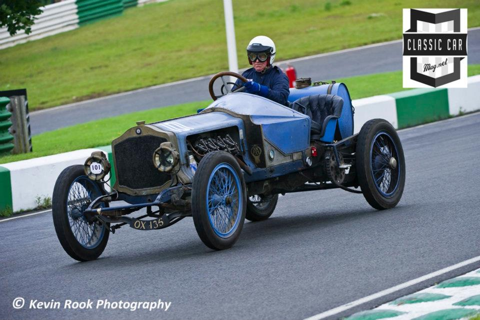 Richard Black in the Panhard-Levassor S4M