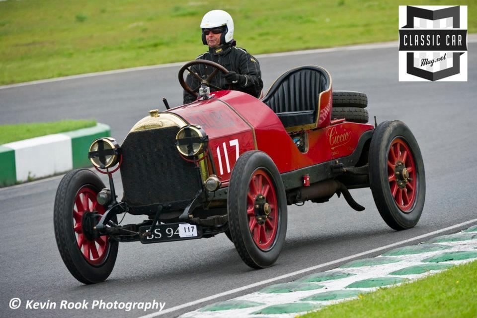 1912/13, 4398cc Nazzaro Targa Florio, driven by David Biggins