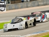 Mercedes C9 leading the Lancia LC2