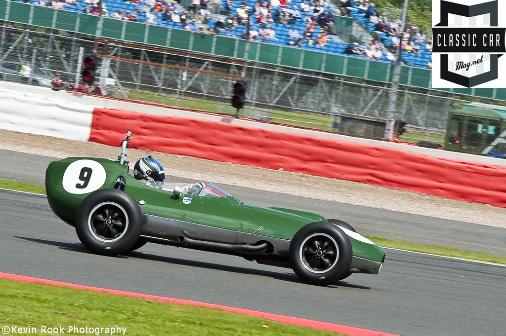 Roger WILLS in a LOTUS 16(363)