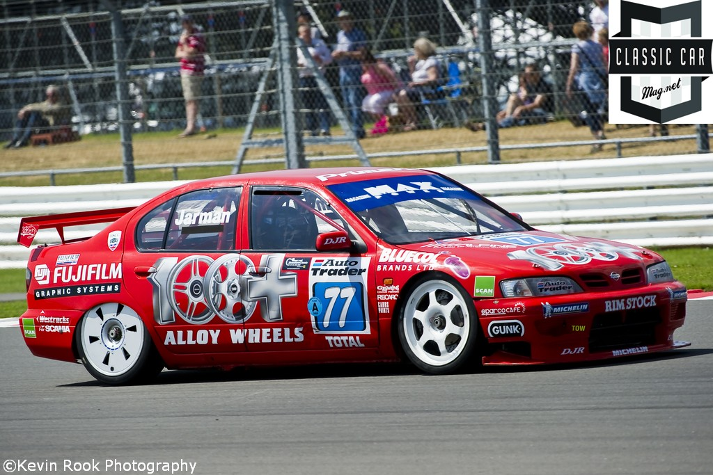 Dave JARMAN qualified the Nissan Primera, in 15th