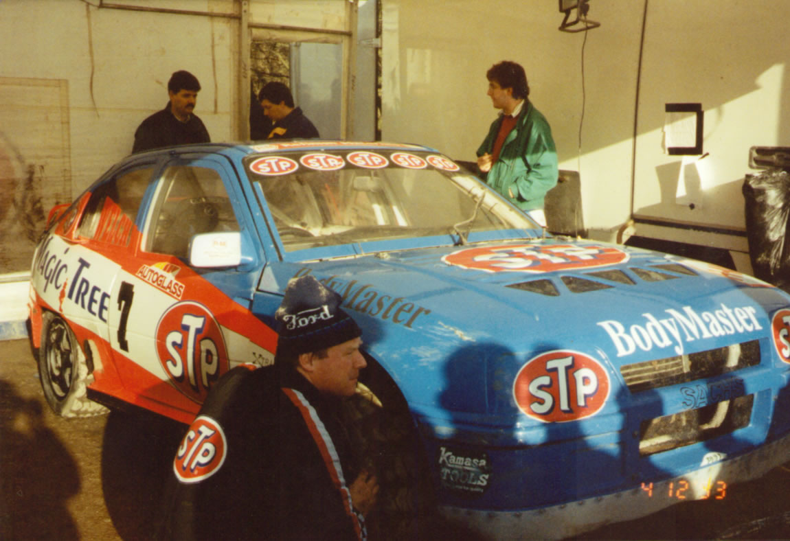 John Welch's Astra at Brands Hatch Dec 1993