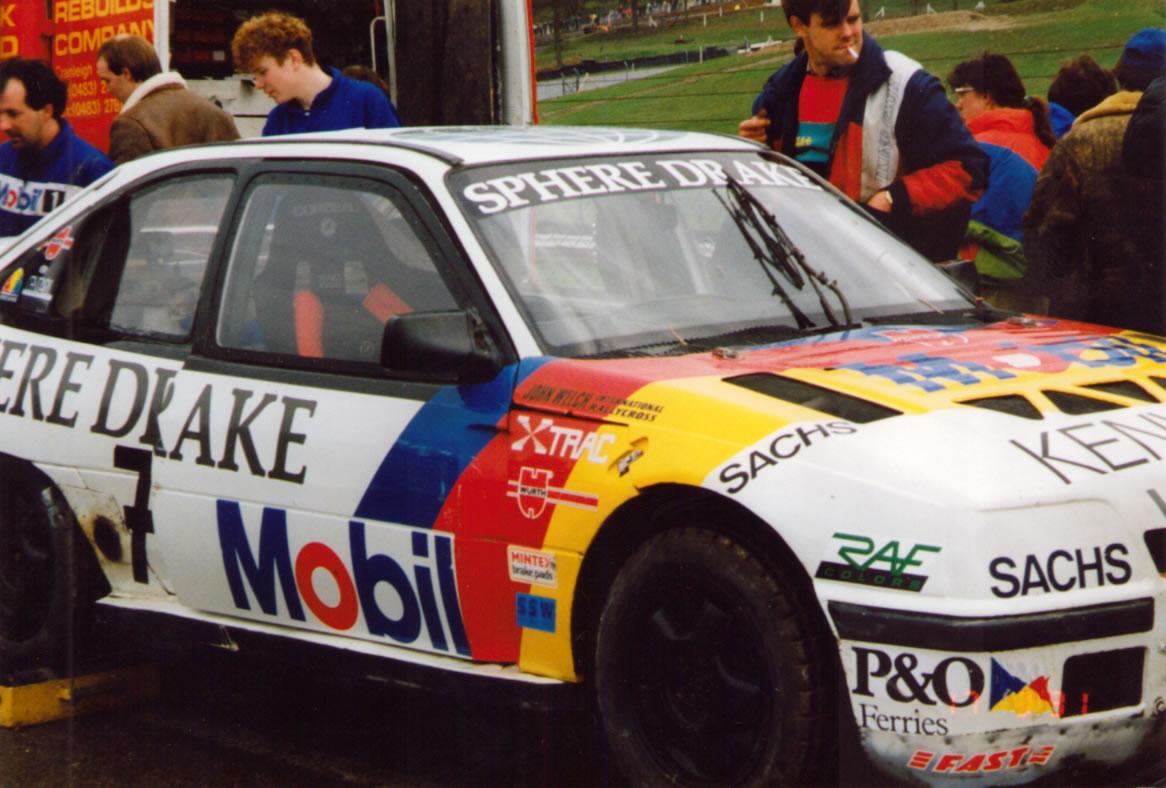 John Welch's Vauxhall Astra at Brands Hatch Dec 1991