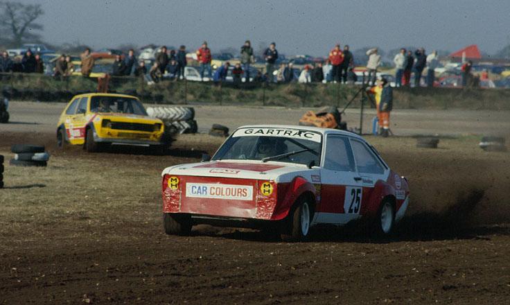 John Welch and Trevor Hopkins - Snetterton Rallycross