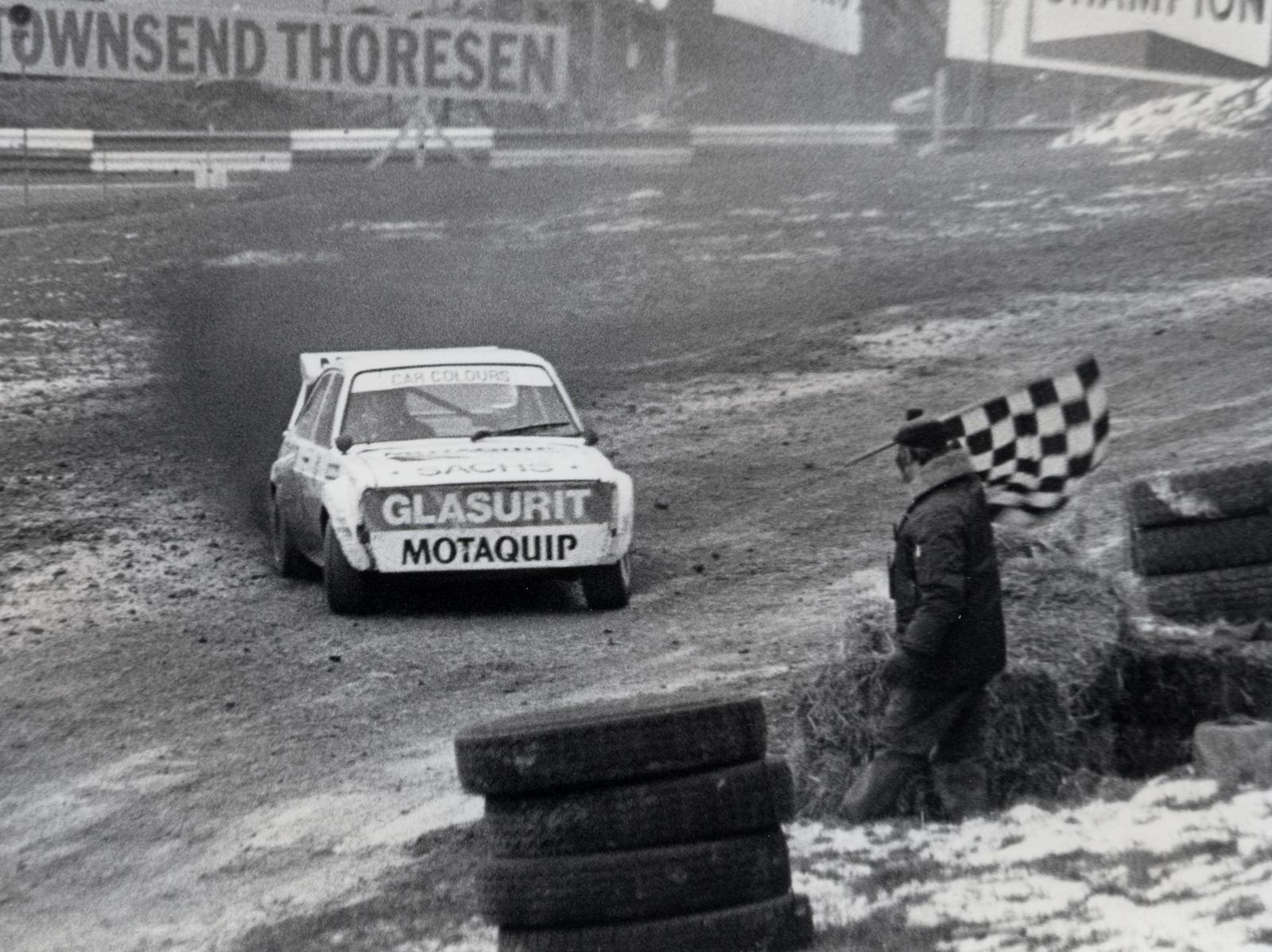 John Welch at Brands Hatch