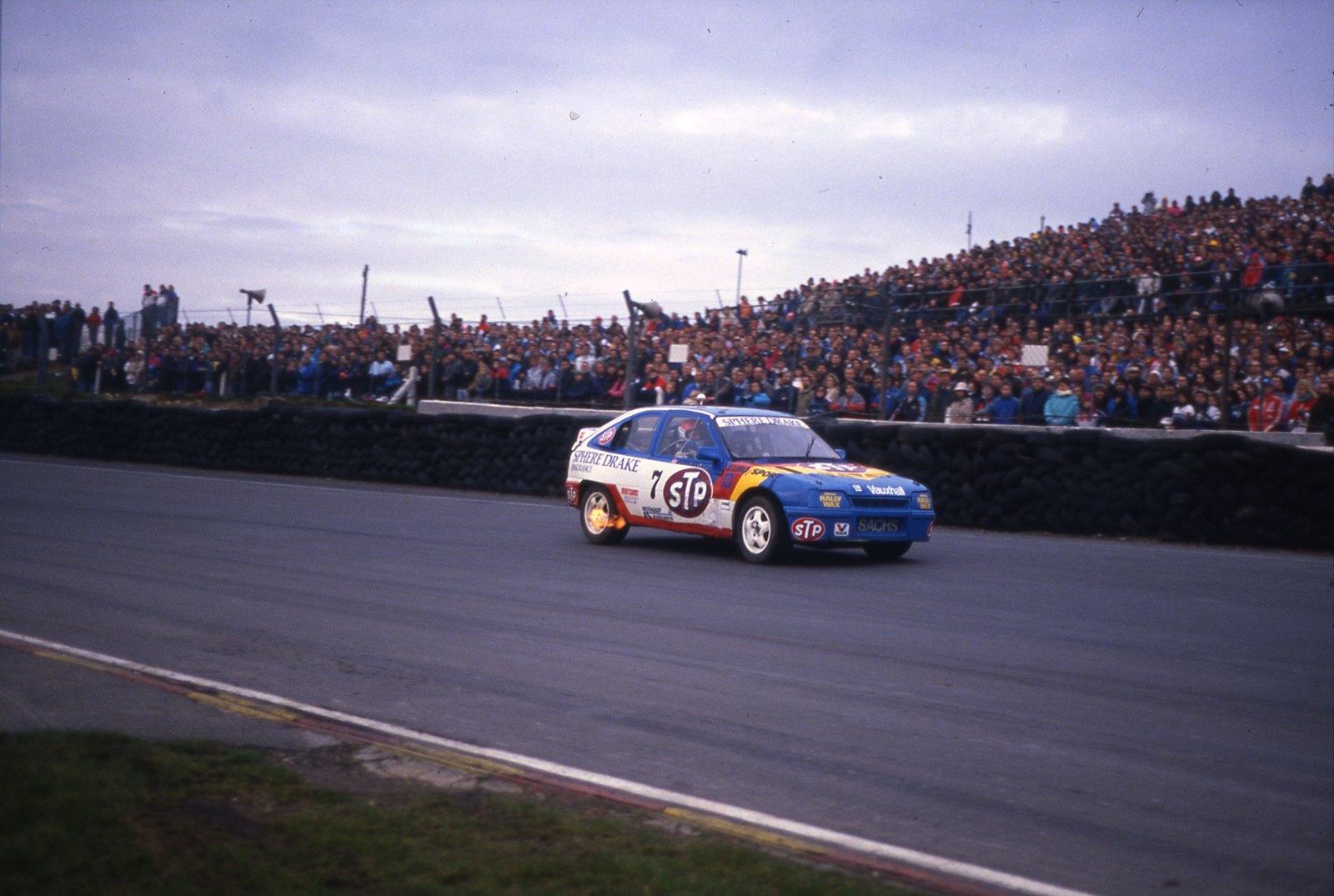 John Welch at Brands Hatch Grand Prix 1988