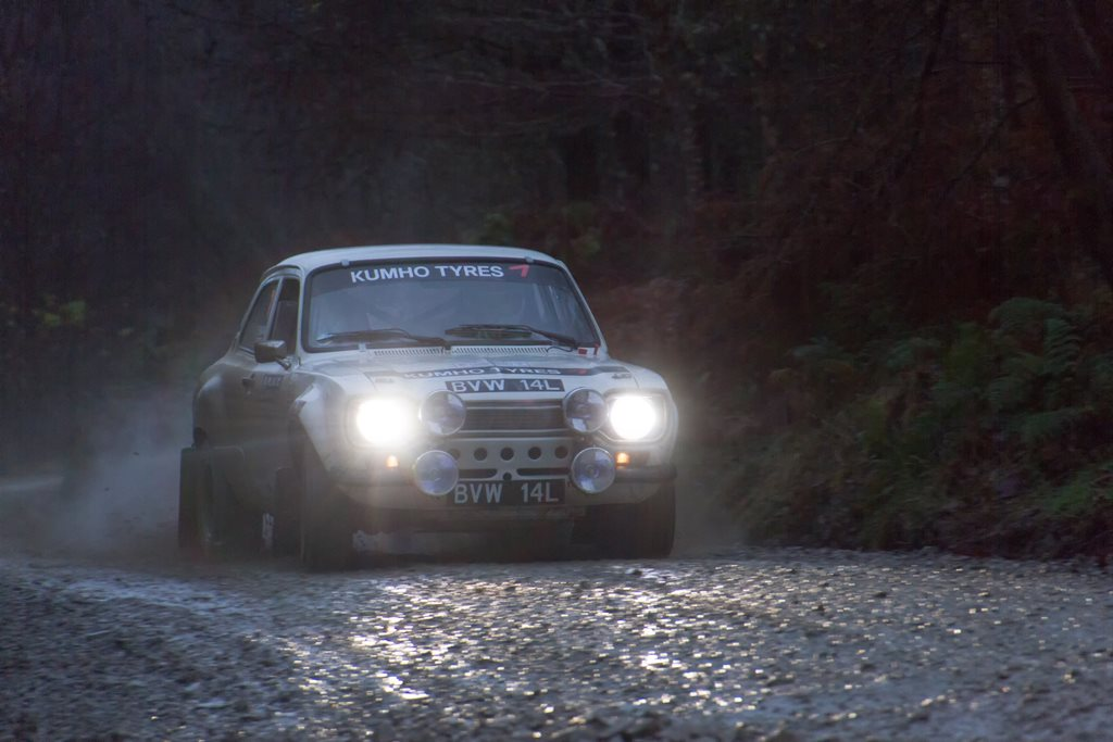 Escort RS1600 at the RAC Rally
