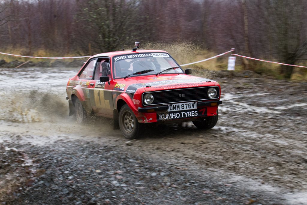 Ford Escort Mk2 at the Roger Albert Clark Rally 2012 - Stage 19