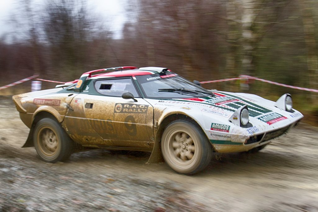 Lancia Stratos at the Roger Albert Clark Rally 2012 - Stage 19