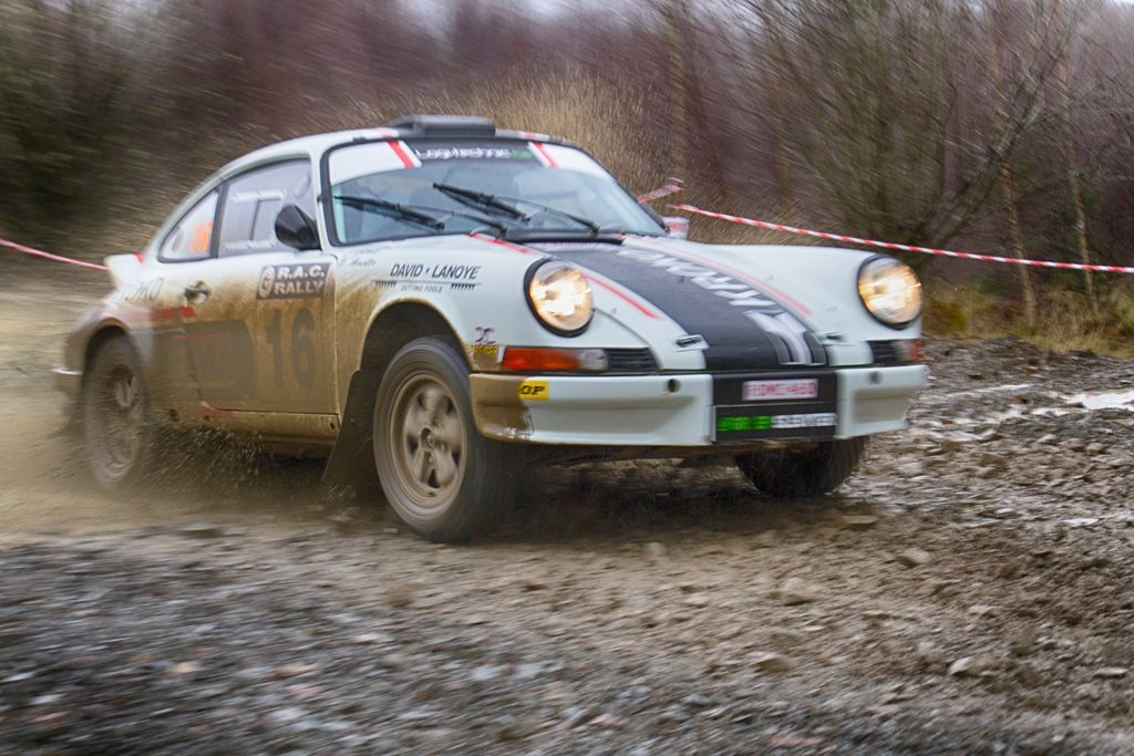 Porsche 911 at the Roger Albert Clark Rally 2012 - Stage 19