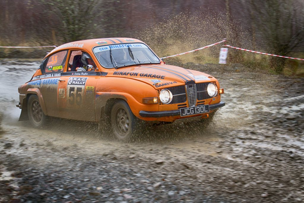 SAAB 96 at the Roger Albert Clark Rally 2012 - Stage 19
