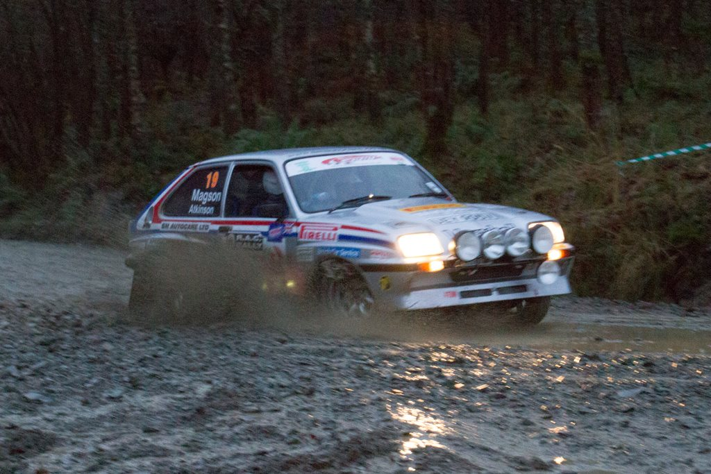 Vauxhall Chevette HSR at the RAC Rally
