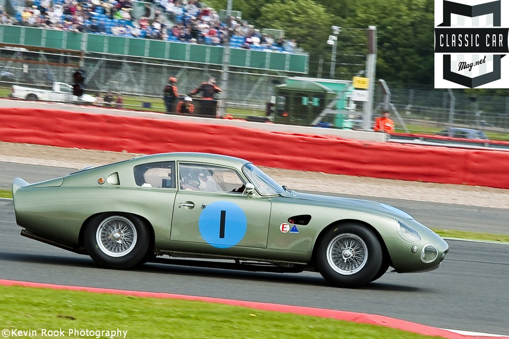2012 Silverstone Classic, Wolfgang FRIEDRICHS and David CLARK in the Aston Martin DP212