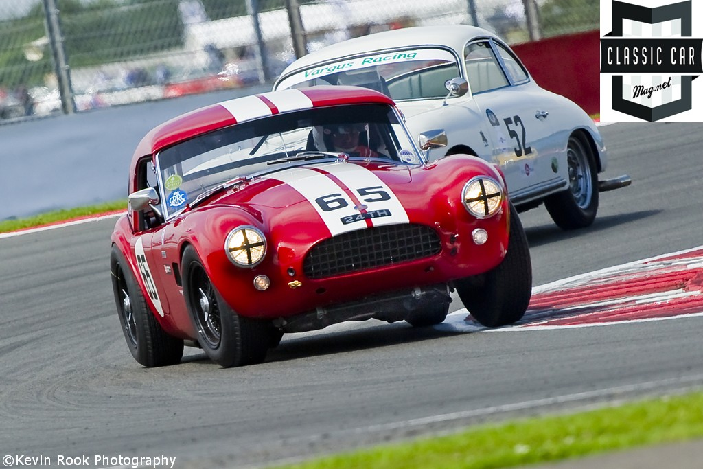 2012 Silverstone Classic, The AC Cobra of Martin HUNT with co driver Patrick BLAKENEY-EDWARDS
