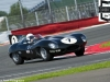 2012 Silverstone Classic, Jaguar D-type of Gary and John Pearson