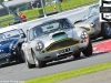 2012 Silverstone Classic, Nick NAISMITH in the Aston Martin DB4 winner of the RAC Tourist Trophy