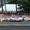 Group C Cars at Le Mans in 2012