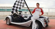 Soap Stars Line Up On Silverstone Grid