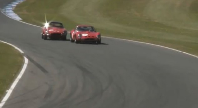 Donington Historic Festival Jaguar Racing 2011