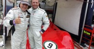 AC/DC 'Frontman' Johnson & F1 Racer Moreno Team Up As Silverstone Classic