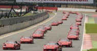 Scarlet fever at Silverstone Classic