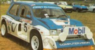 History of the MG Metro 6R4
