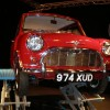 CLASSIC MOTOR SHOW RESTORED MORRIS MINI UP FOR GRABS AT 2009 SHOW