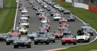 BIGGEST E-TYPE JAGUAR BIRTHDAY PARTY AT THE SILVERSTONE CLASSIC