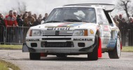 RALLY CARS RETURN TO DONINGTON