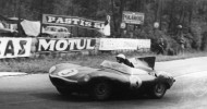JAGUAR D-TYPE RETURNS TO SCENE OF HISTORIC LE MANS VICTORY