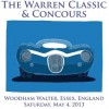 Essex plays host to the inaugural Warren Classic & Concours event on Saturday, May 4