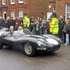 Jaguar D-Type pays tribute to Mike Hawthorn