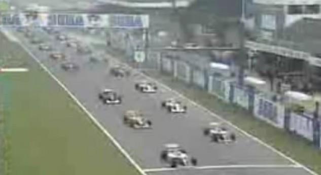 Formula 1 Donington Park 1993 European Grand Prix Video Highlights