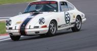 50th Anniversary Celebrations For Porsche 911 At Silverstone Classic