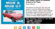 Available again! MGB & MGB GT – Your Expert Guide to Problems & How to Fix Them by Roger Williams