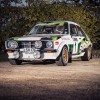 McRae rally car for auction at Race Retro